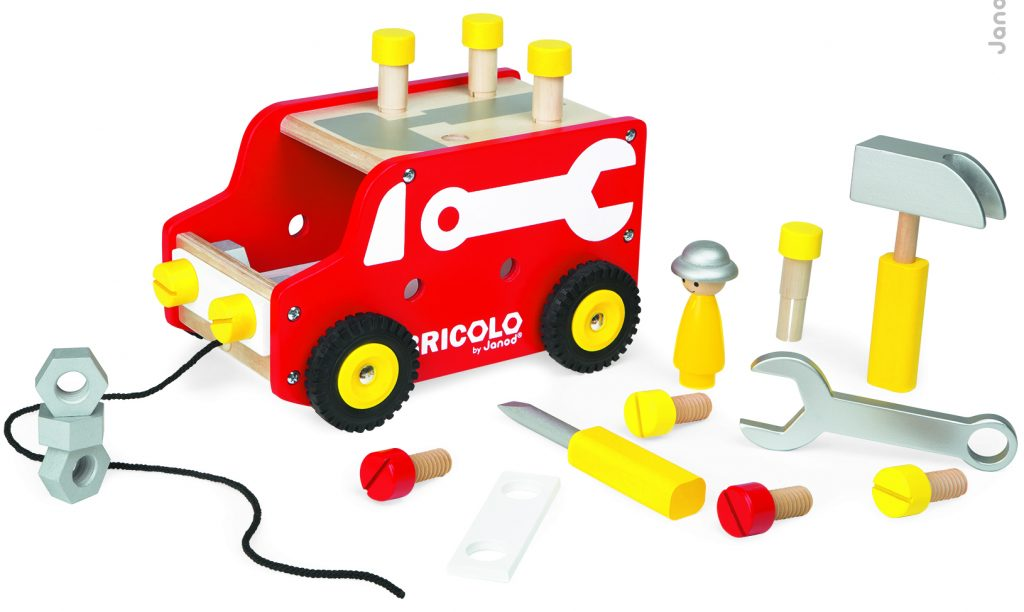 voiture bricoloage Janod